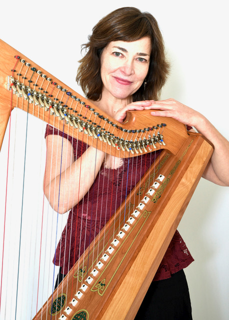 Holiday Harp with Kim Robertson and Friends at the Irish Cultural and Heritage Center Saturday, Dec. 16