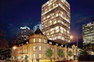 Masonic Hotel Rendering