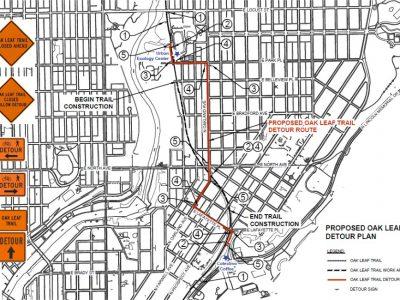 East Side Oak Leaf Trail Reconstruction Slated to Begin in Early November