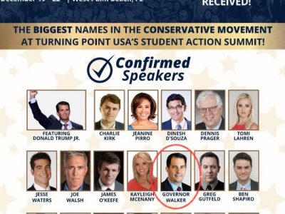 Gov. Scott Walker to Share Stage With Right-Wing Deplorables for December Florida Junket