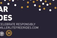 Ring in the New Year with Miller Lite Free Rides® on MCTS