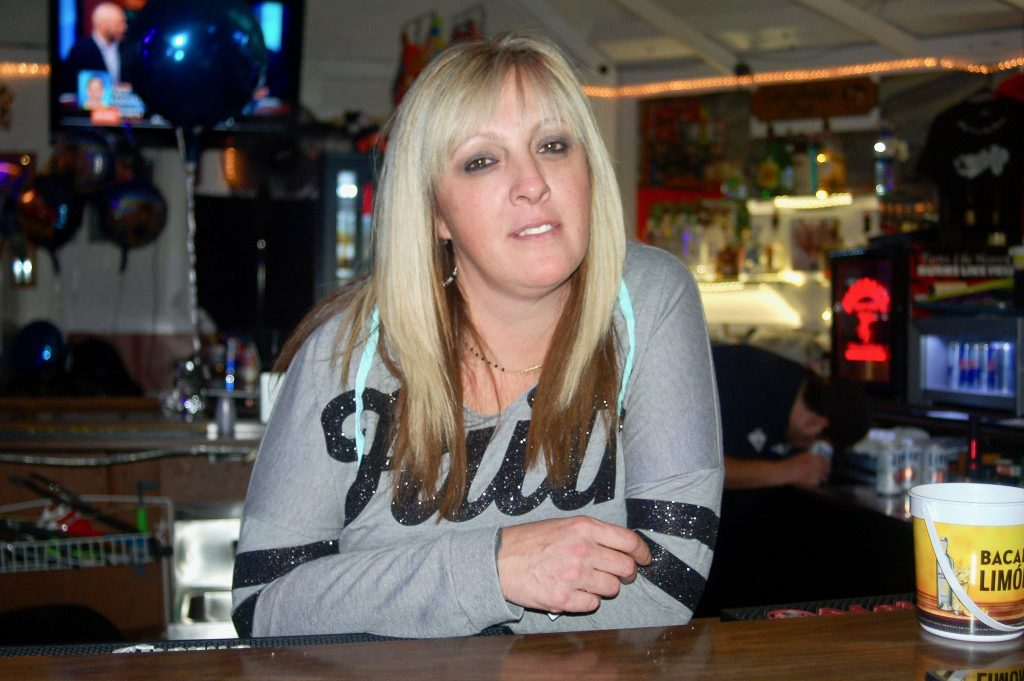 Cathy West, owner of Cat-Daddy's, Too, will close her tavern on Dec. 15. Photo by Edgar Mendez.