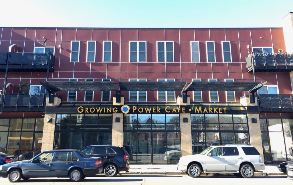 The Growing Power cafe and market, at 2719 N. Dr. Martin Luther King Drive, is permanently closed after the nonprofit ran into financial difficulties. Photo by Elliot Hughes.