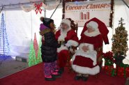 Cocoa with the Clauses presented by Madison Medical Affiliates. Photo courtesy of Milwaukee Downtown.