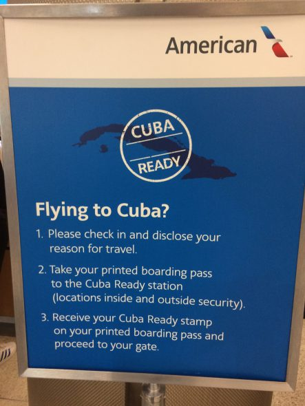 Flying to Cuba? Photo by Art Heitzer.