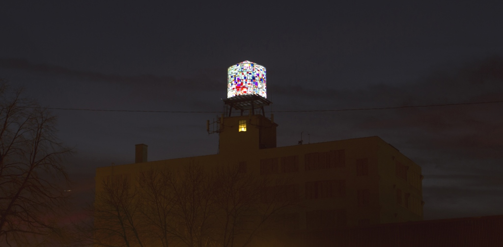 Coakley's Water Tower. Photo by Tom Bamberger.