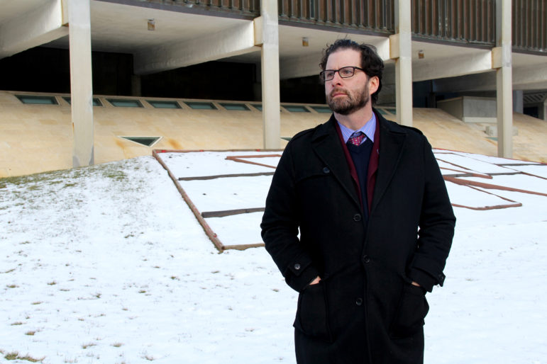 Peter J. Fox is an attorney who specializes in employment law, including representing whistleblowers who allege retaliation under Wisconsin's whistleblower law. Photo by Alexandra Hall / WPR/Wisconsin Center for Investigative Journalism.