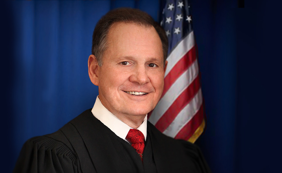 Roy Moore. Photo from Judge Roy Moore for U.S. Senate campaign website.