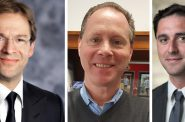 County Exec. Chris Abele, Jim Sullivan, James Tarantino.