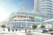 The Couture as seen from the north. Rendering by Rinka Chung Architecture.