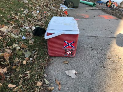 Sewer contractor to appear before the Steering & Rules Committee to address racist symbols at work-site