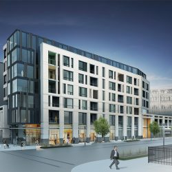 511 N. Broadway. Rendering by Engberg Anderson Architects.