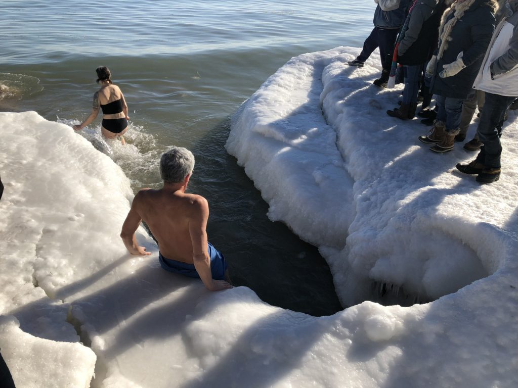 2018 Polar Plunge. Photo by Jeramey Jannene.