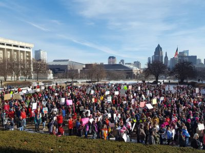 Energy from Women's March Continues in 2018