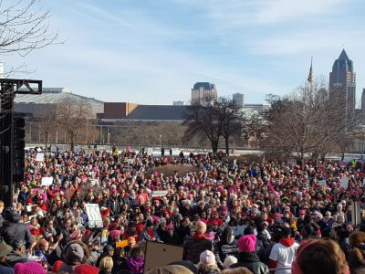 Photo Gallery: Women's March Brings Thousands Downtown