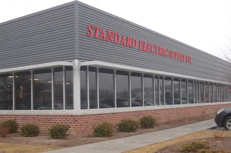 The Standard Electric Company, 222 N. Emmber Lane, moved to the Menomonee Valley from downtown 30 years ago. The company's plans include an expansion into the east end of the valley. Photo by Edgar Mendez.