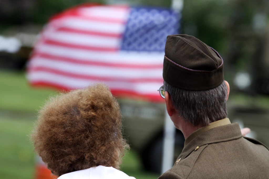 Veteran. Photo from the Wisconsin Department of Veterans Affairs Facebook page.