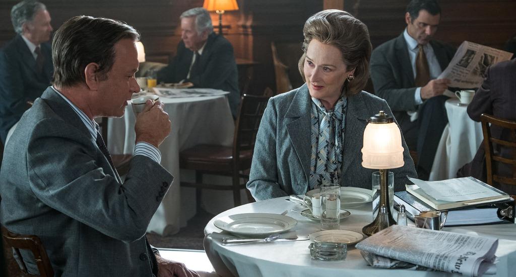 Tom Hanks and Meryl Streep in 'The Post'