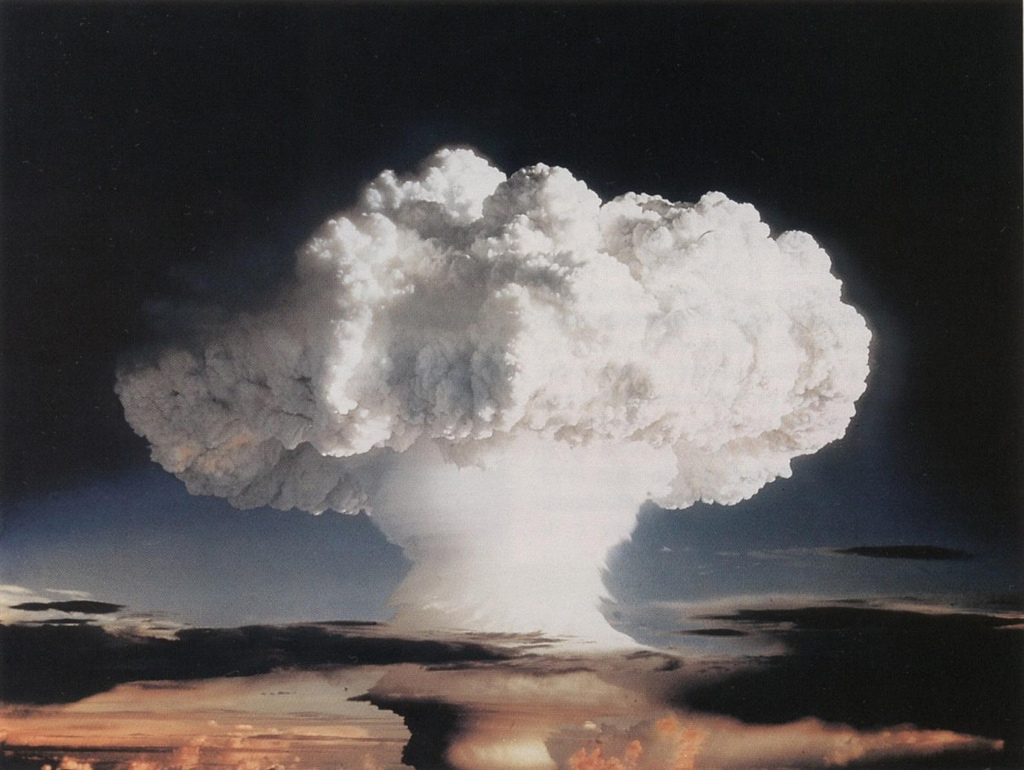"""Ivy Mike"" atmospheric nuclear test, November 1952. By The Official CTBTO Photostream [CC BY 2.0 (http://creativecommons.org/licenses/by/2.0)]"