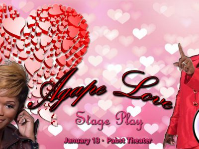 "Grammy-Award Winners, Gospel Greats, and Milwaukee Inner-City Talent Star in ""Agape Love"" at the Pabst Theater"
