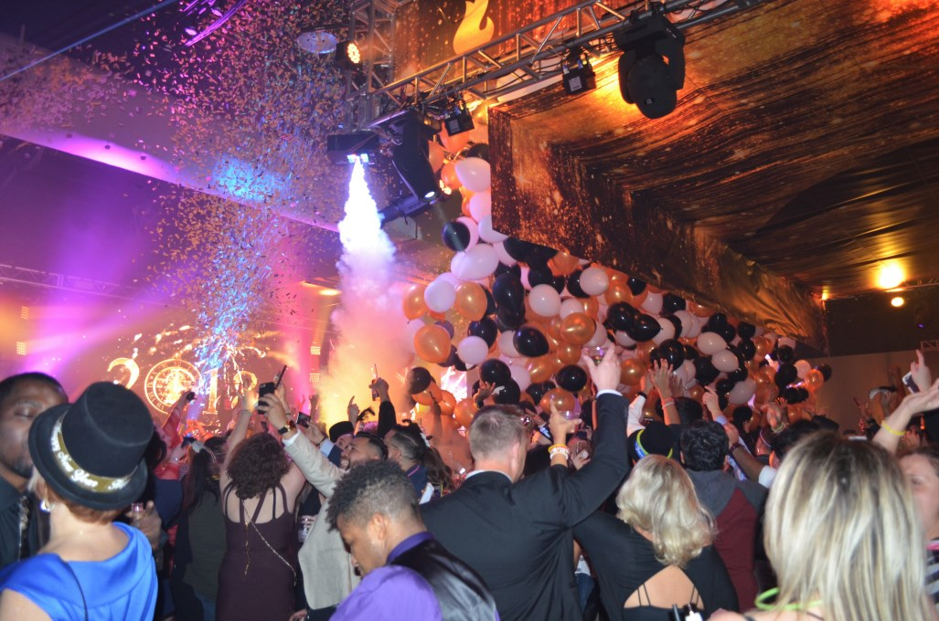 New Year's at Potawatomi Hotel & Casino. Photo by Jack Fennimore.