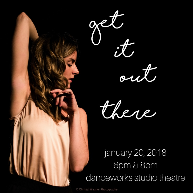 Area choreographers present new works in Danceworks DanceLAB&#8217;s <em>Get It Out There</em>, January 20