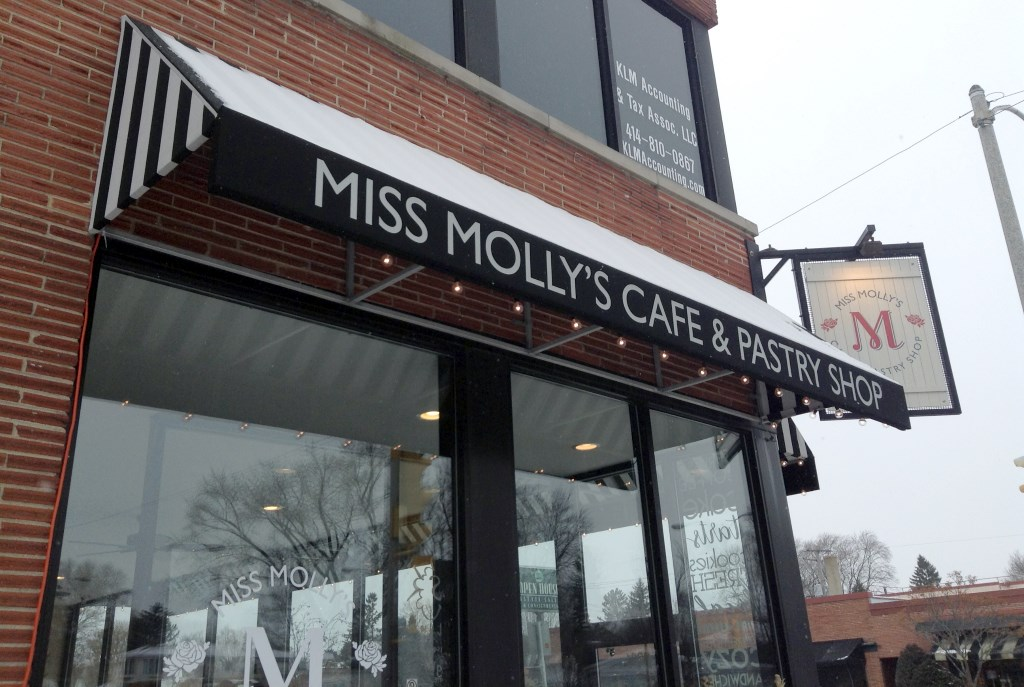Miss Molly's Cafe & Pastry Shop. Photo taken by Cari Taylor-Carlson.