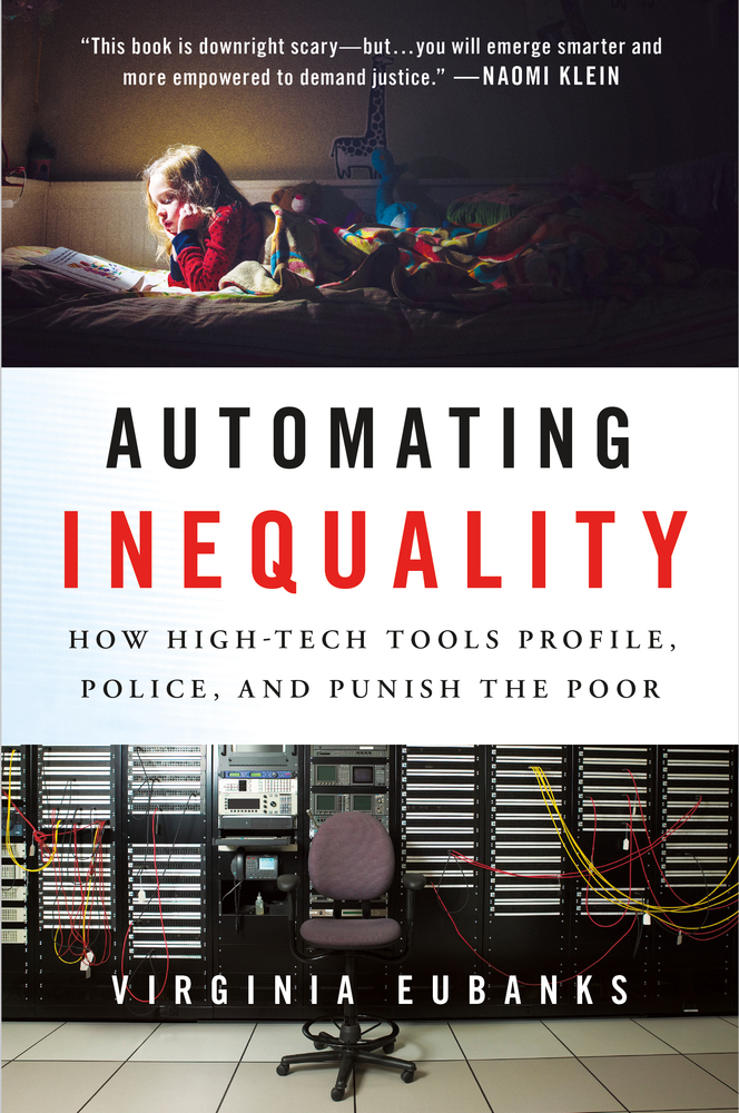 Virginia Eubanks to Present Her Book Automating Inequality