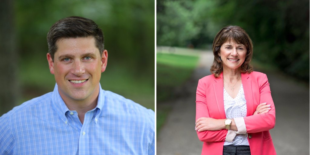 Leah Vukmir and Kevin Nicholson Campaigning on Scam GOP Tax Law