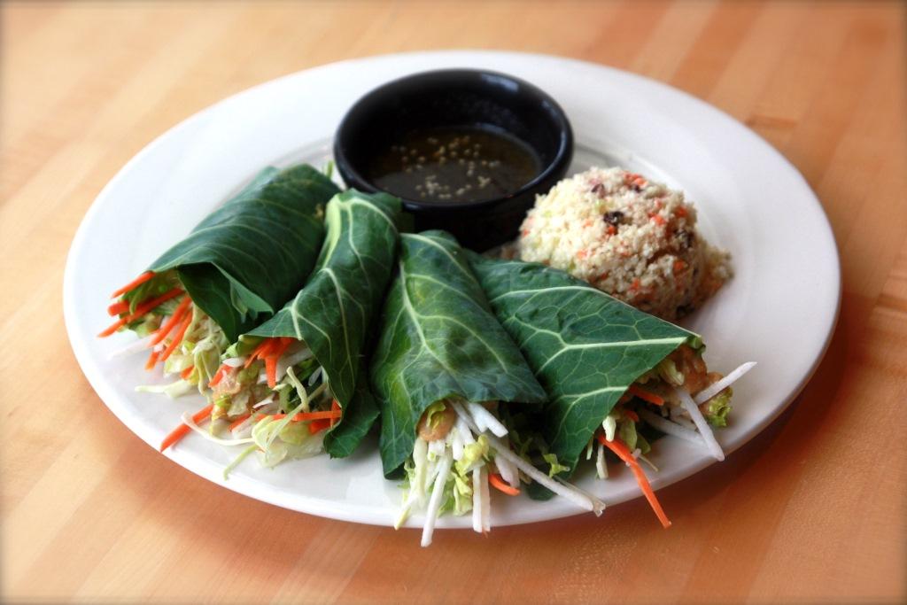 Thai Rolls at Café Manna. Photo courtesy of Café Manna.