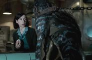 "Sally Hawkins and friend in ""The Shape of Water."""