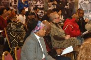 About 100 people attended a recent forum at the Wisconsin Black Historical Society. Photo by Elliot Hughes.