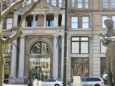 Haywood Group renovated the Germania Building at 135 W. Wells St. in a $25 million project. Photo by Talis Shelbourne.