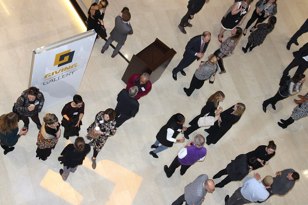 VIP Opening Party for the Northwestern Mutual Giving Gallery - Community In Progress. Photo by Erol Reyal.