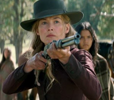 Rosamund Pike in 'Hostiles'