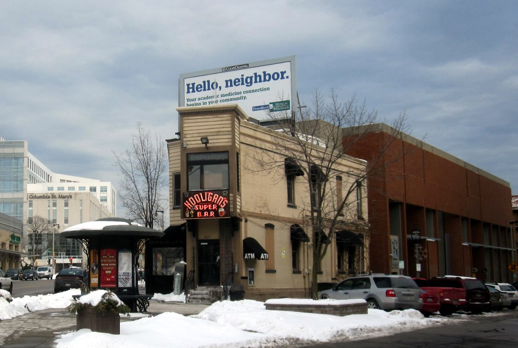 Hooligan's Super Bar. Photo by Michael Horne.