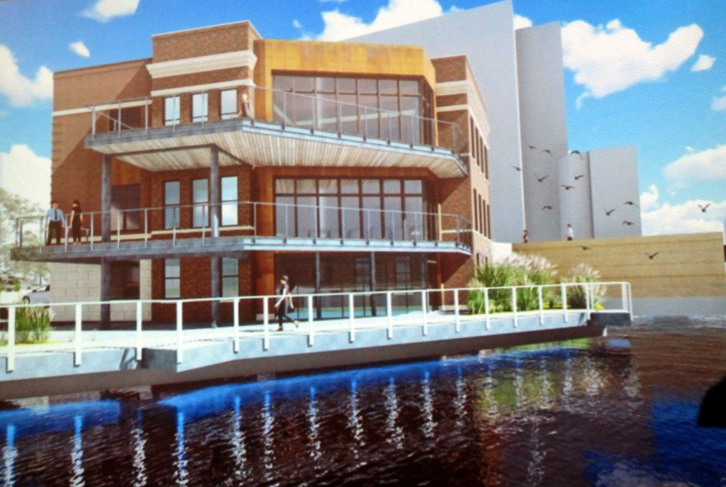 105 N. Water St. Rendering. Rendering by Eppstein Uhen Architects.