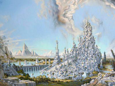 Art: The Cosmic Landscapes of Matthew Lee