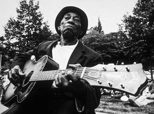 Mississippi John Hurt. Photo from Facebook.