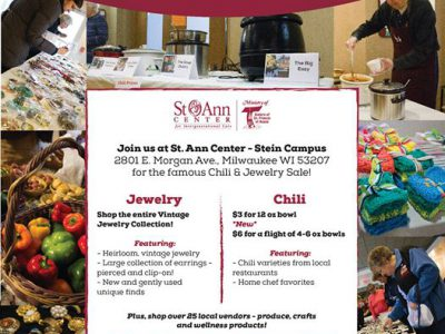 Local Restaurants Spice Up St. Ann Center's Chili & Jewelry Sale