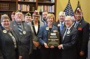 U.S. Senator Tammy Baldwin Honored by Disabled American Veterans Organization with Senate Legislator of the Year Award