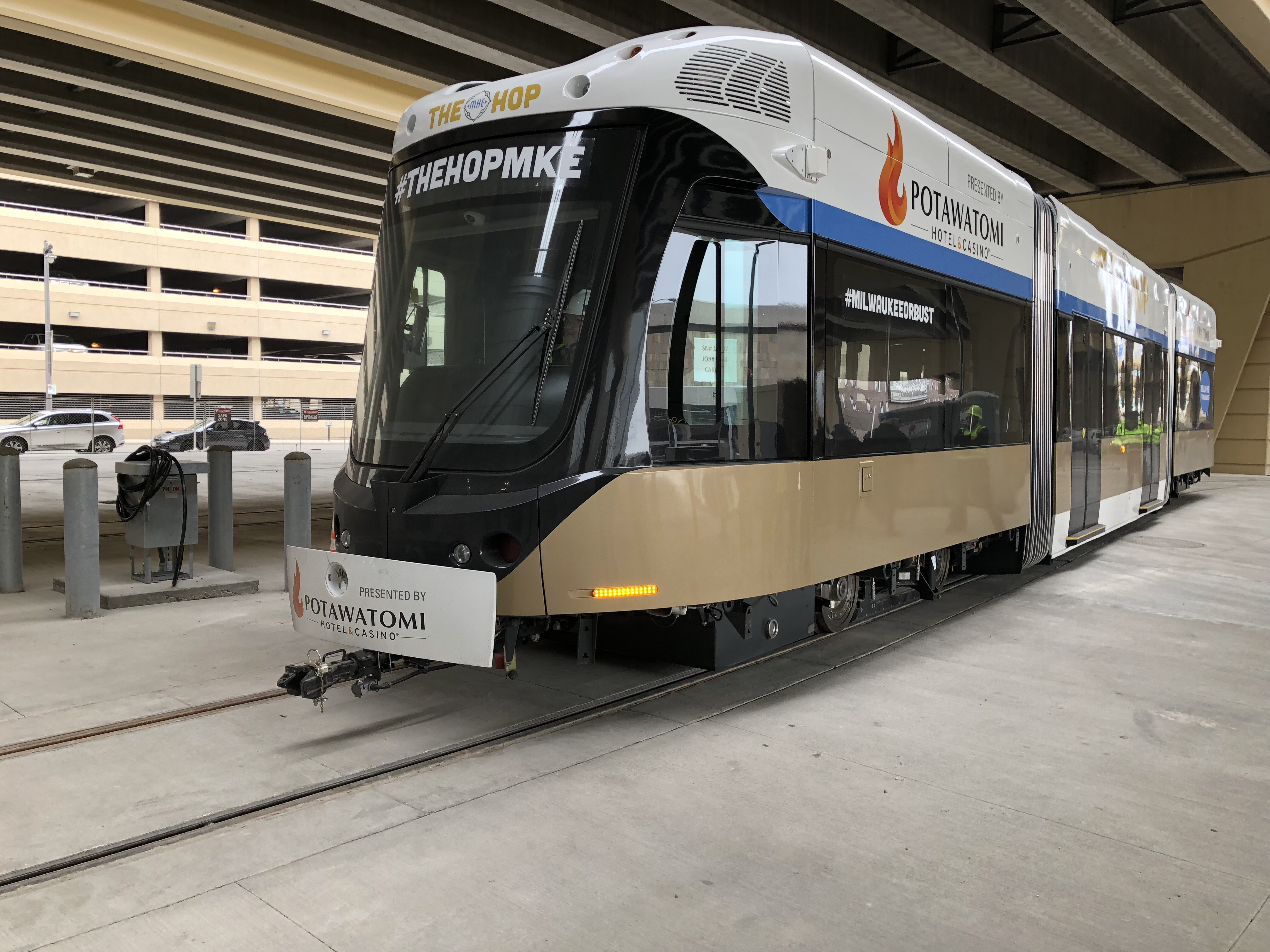 Third Milwaukee Streetcar Vehicle Due to Arrive on Thursday, July 26, 2018
