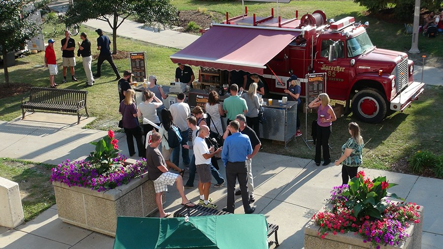 Recruiting for Traveling Beer Garden staff and other seasonal positions will take place at the Parks job fair, March 31 at Falk Park. Photo from Milwaukee County Parks.