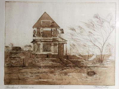 Tony Ostry to exhibit <em>Etchings by Ostry</em> at Inspiration Studios