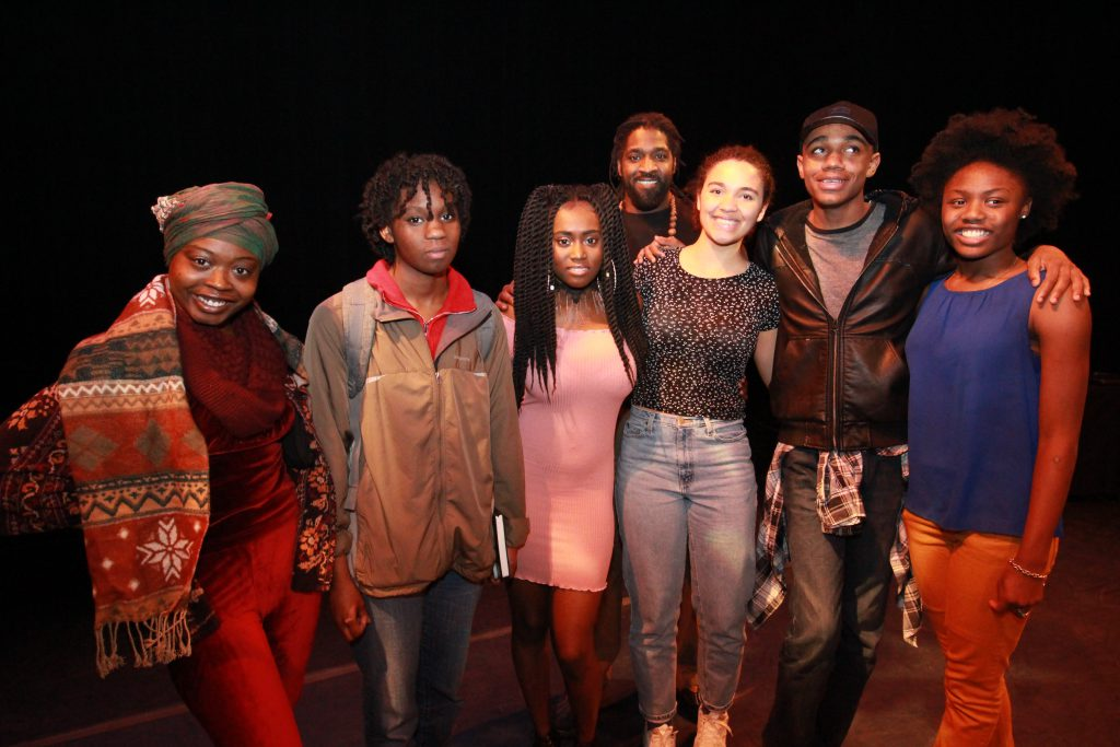 Milwaukee Teens Take Houston For the Brave New Voices International Poetry Festival Photo courtesy of the Still Waters Collective.