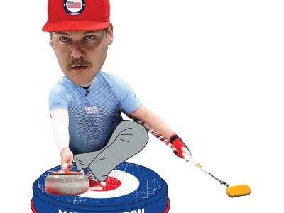 First Curling Bobblehead, Featuring Matt Hamilton, Unveiled