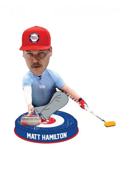 Matt Hamilton Bobblehead.