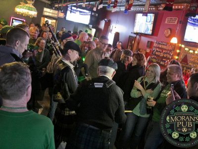 Moran's 22ND Annual St. Patrick's Day Party Spills Into the Street!!
