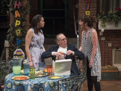 Theater: Rep's World Premiere A Letdown