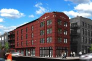 Rendering of 203 N. Broadway. Rendering by Engberg Anderson Architects.